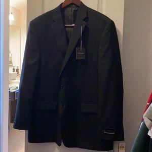 Van Heusen 46R Black Suit Coat